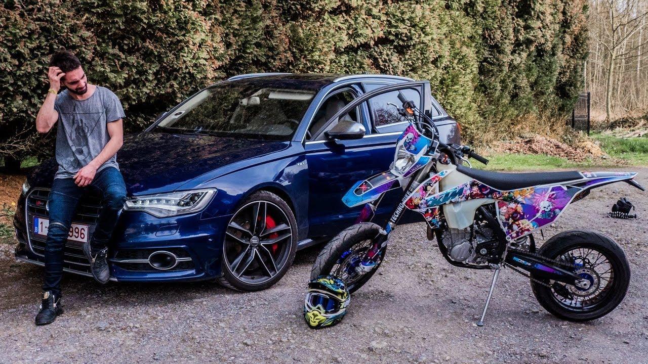 JE SORS L'ARMADA | Supermoto, Nissan GTR & Audi S6