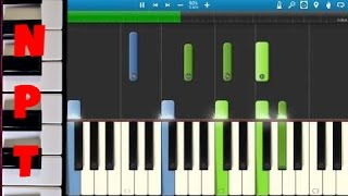 Adele - Hello - Piano Tutorial - How to play Hello Piano Section - Chords - Instrumental