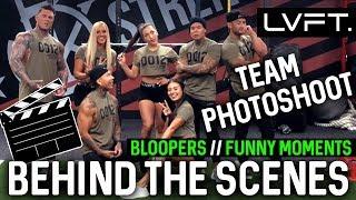TEAM LVFT Photoshoot Behind the Scenes 2018