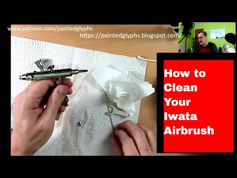 How to clean your airbrush The Iwata Eclipse HP-SBS