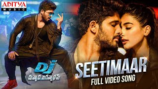 #SeetiMaar - Full Video Song | DJ Video Songs | Allu Arjun | Pooja Hegde | DSP