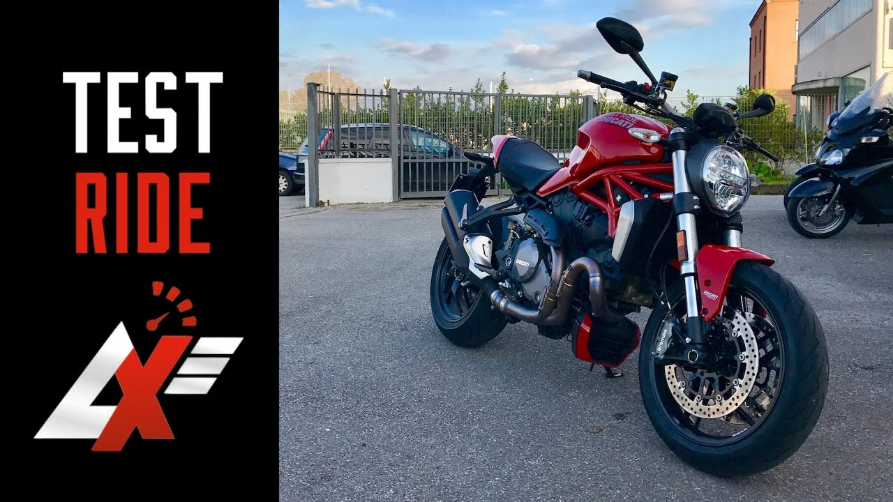 Ducati Monster Sound Test