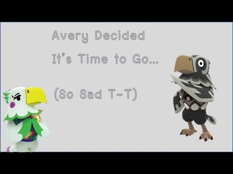 Avery Decided It's Time to Go.... (So Sad T-T)