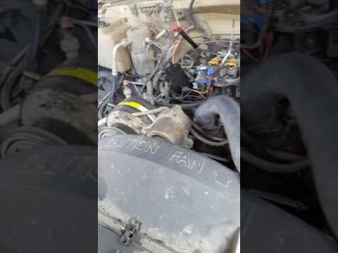 1994 chevy 350 57L tbi not running right - YouTube