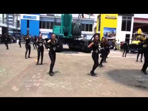 Dance Performn by AN Generation - Mining Expo 2013 Day 2