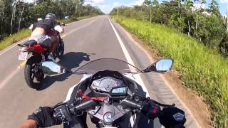 Ninja 300 - Top speed (stock again) and