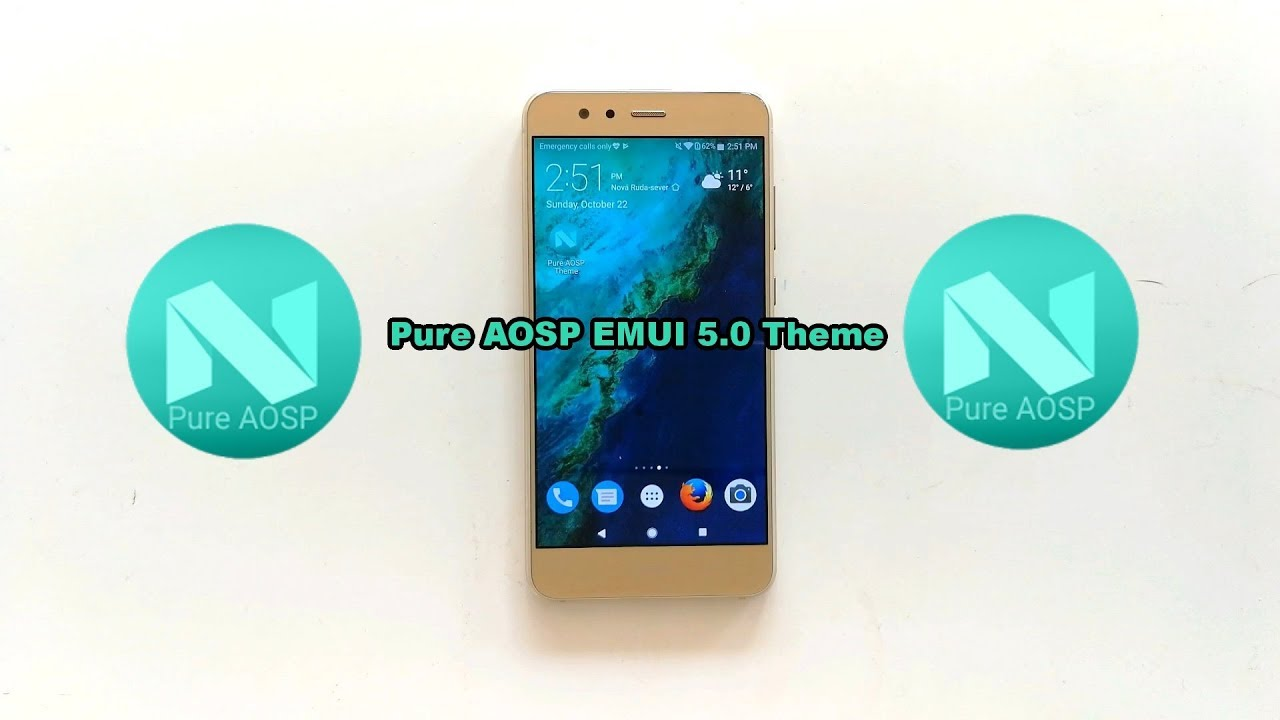 Amazing Pure AOSP EMUI 5 0 theme for Huawei/Honor devices!