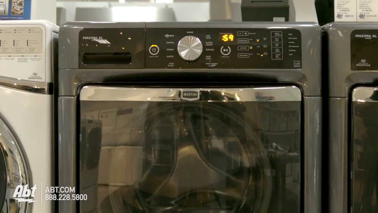 Maytag Maxima XL Granite Front Load Steam Washer MHWAG - Abt washers