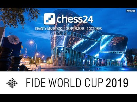 Round 2 - Game 1 - 2019 FIDE World Cup - LIVE