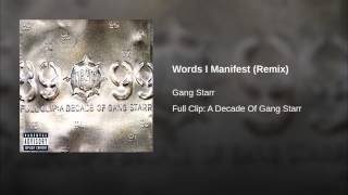 Words I Manifest (Remix)