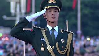 Flag-raising ceremony held to celebrate National Day | CCTV English