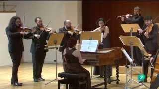 Domenico Scarlatti, Sonata in d K90 by Silvia Márquez & La Tempestad