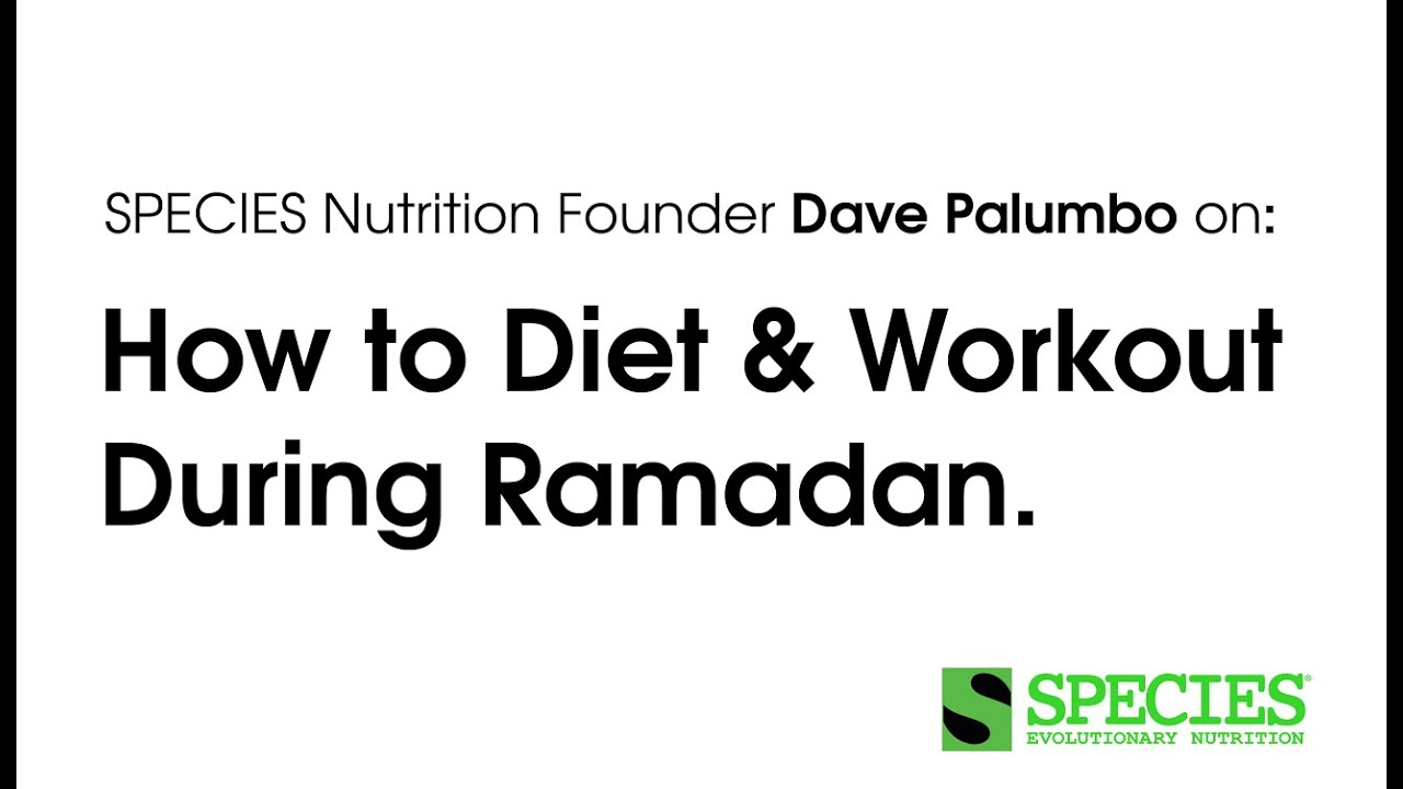 Dave Palumbo On Diet And Working Out During Ramadan