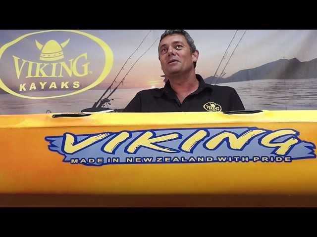 Viking Kayaks Profish 440   Feature video