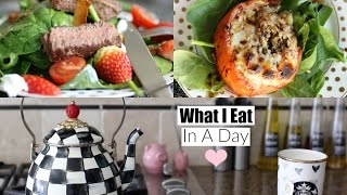 What I Eat In A Day 2016 Healthy Lunch & Dinner Ideas MissLizHeart