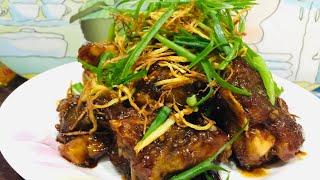 Crispy Ginger Grouper Fish Recipe  Amylyns  Kitchen