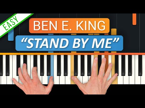 How To Play Stand  Me  Ben E King  HDpiano Part 1 Piano Tutorial