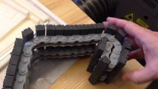 Astonishing Tank Tread and Chain