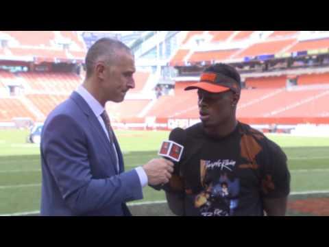 Corey Coleman Postgame Interview: Browns vs Ravens