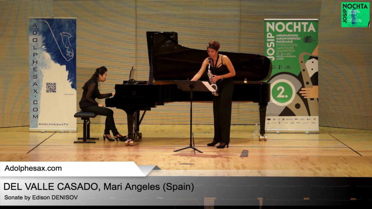 Sonate by Edison DENISOV – DEL VALLE CASADO – MAri Angeles (Spain)