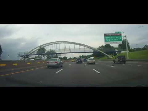 Driving from the West Side of Cleveland to Mayfield Heights, Ohio