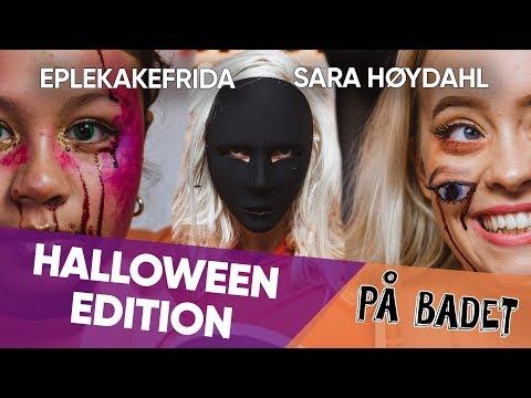 DIY HALLOWEEN-SMINKE   Sara Høydahl & Eplekakefrida   På Badet med VITA
