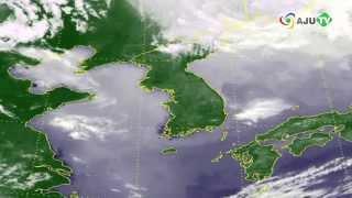 [AJU TV] 5월 14일 날씨, 전국 구름 많고 한낮 30도, 제주 한때 비
