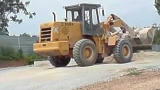 XGMA wheel loader XG932III in Malaysia part 1