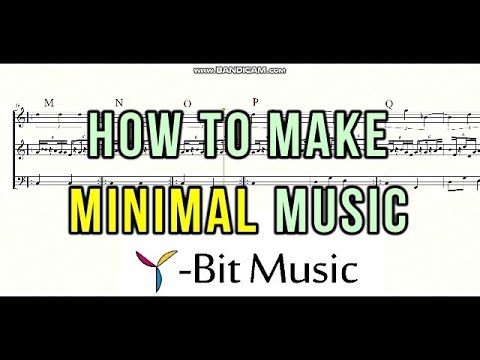 How to make minimal music/ ミ...