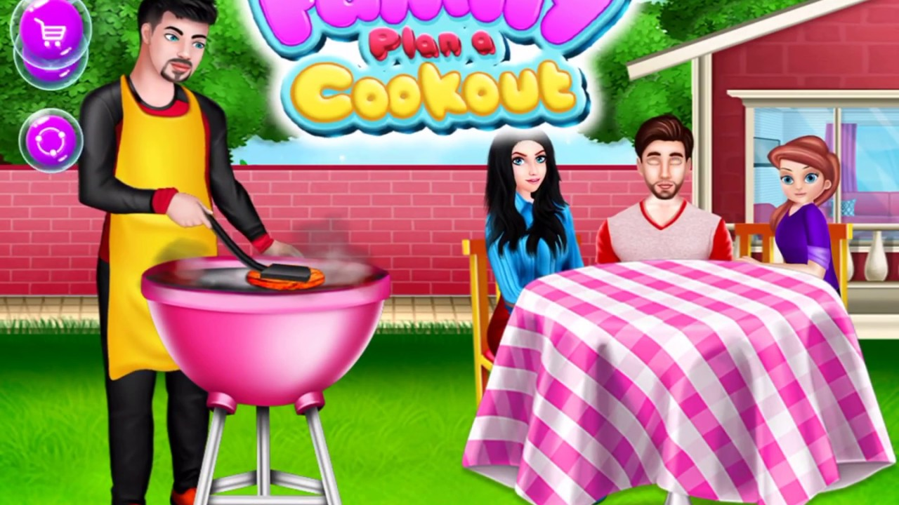 Family Plan A Cookout – Home Cooking Story – Cooking Love Story || Cooking In The Kitchen