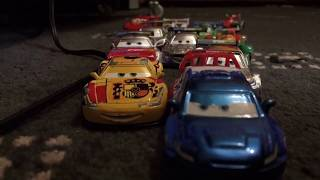 CARS 2 DELETED TOKYO RACE RE-ENACTMENT!! (StopMotion)