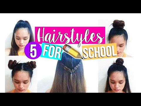 Quick & Easy HEATLESS Hairstyles for School! | Back to School