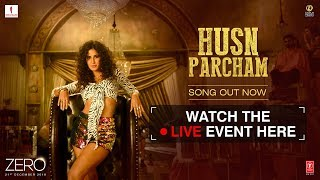 Watch Zero's #HusnParcham Song Launch Event LIVE