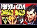 PERFECTLY CLEAN DARIUS BUILD 🔥 BE IMMORTAL WITH INSANE DAMAGE 🔥 TOP Darius Season 9 Gameplay