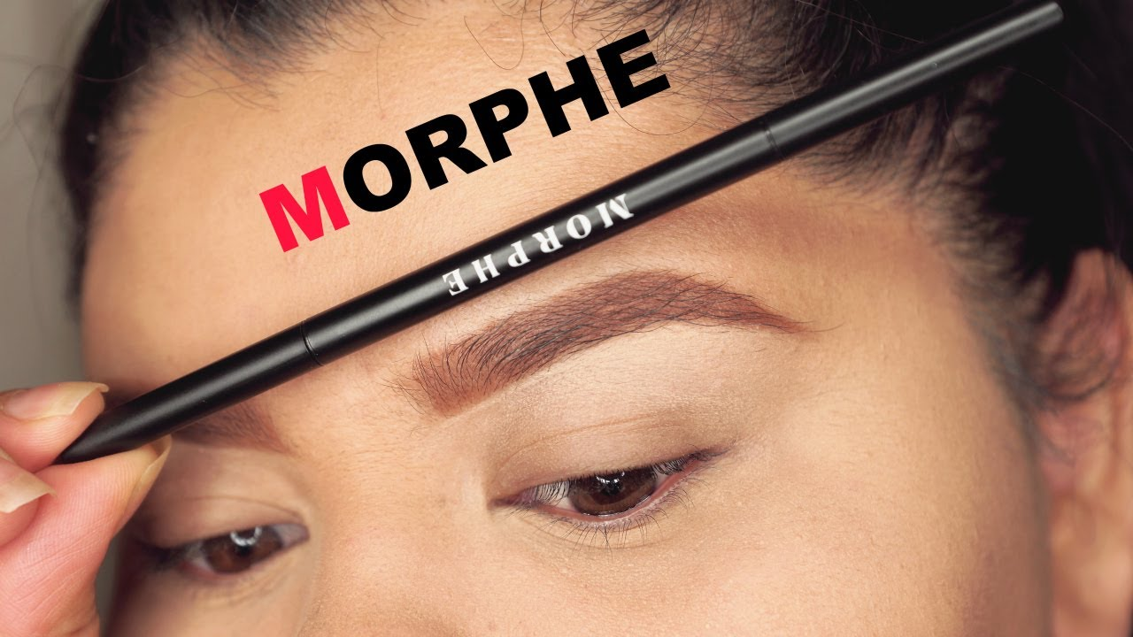 Morphe Micro Brow Pencil First Impression Youtube Goof proof eyebrow pencil shade 3 individual sample. morphe micro brow pencil first