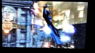 خطأ تقني في لعبة باتمان : مدينة الرخوم | Bug) in Batman Arkham City)
