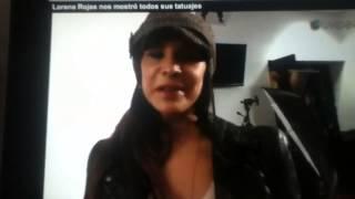 Lorena Rojas Y Sus Tatuajes [febrero 2013]