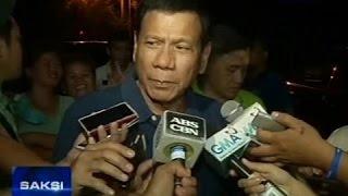 Saksi: VP Binay, kino-consider si Mayor Duterte bilang ka-ticket sa Eleksyon 2016