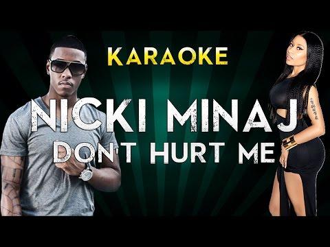 Nicki Minaj Ft. Jeremih - Don't Hurt Me | Official Karaoke Instrumental Lyrics Cover Sing Along