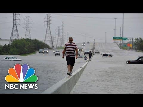 'Our Town Is Destroyed': Texans Face Hurricane Harvey Destruction | NBC News
