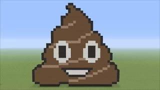 The Big Minecraft Build (#24) Giant Poop Emoji Pixleart