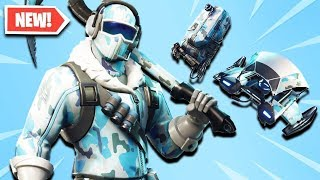The new SKIN of the PACK FROID ÉTERNEL arrives on Fortnite ..