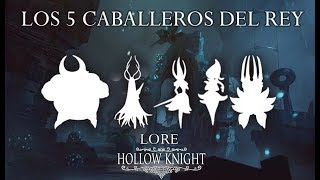 Hollow Knight Lore | 2- Los 5 caballeros del Rey Blanco