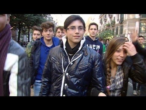 euronews reporter - No es país para jóvenes, en Italia