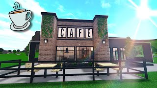 construí una CAFETERIA en bloxburg