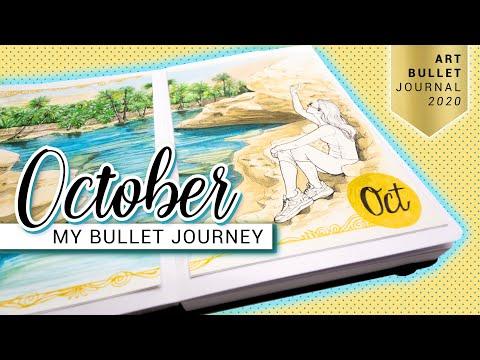 OCTOBER Bullet Journal Setup 2020 Oman Bullet Journey PLAN WITH ME