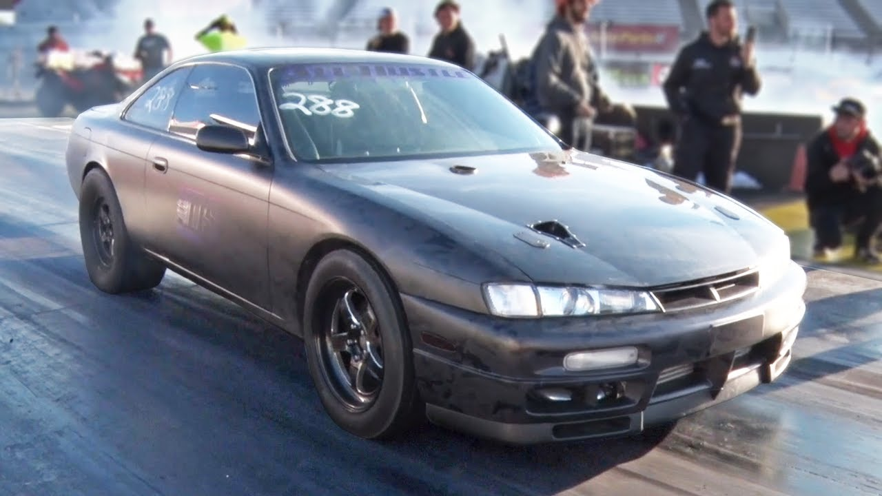 A New Kind Of Hybrid 2jz 240sx Dragtimes Com Drag Racing Fast