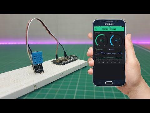 Blynk ESP8266 DHT11 Temperature Sensor