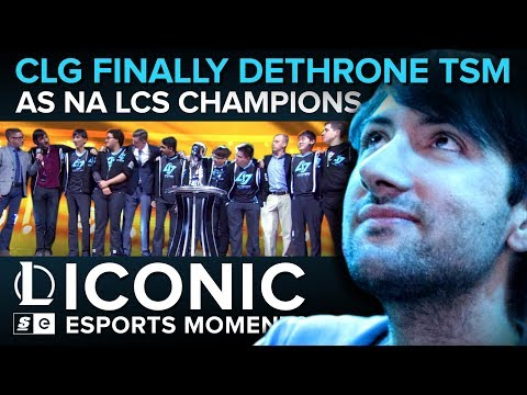 ICONIC Esports Moments: CLG finally dethrone TSM as NA LCS Champions