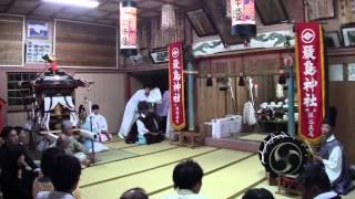 【北海道江差町】厳島神社宵宮祭での神楽